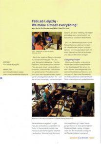 Netzwerknachrichten / Fab Lab